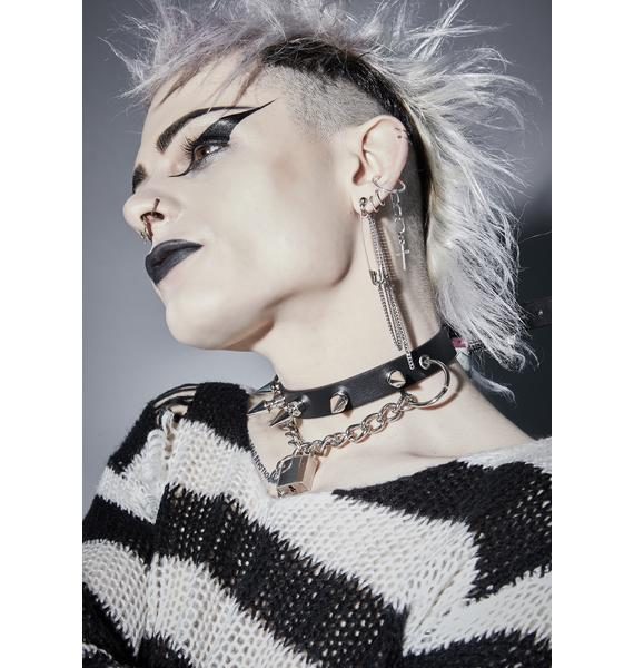 Funk Plus Enjoy The Silence Spiked Choker