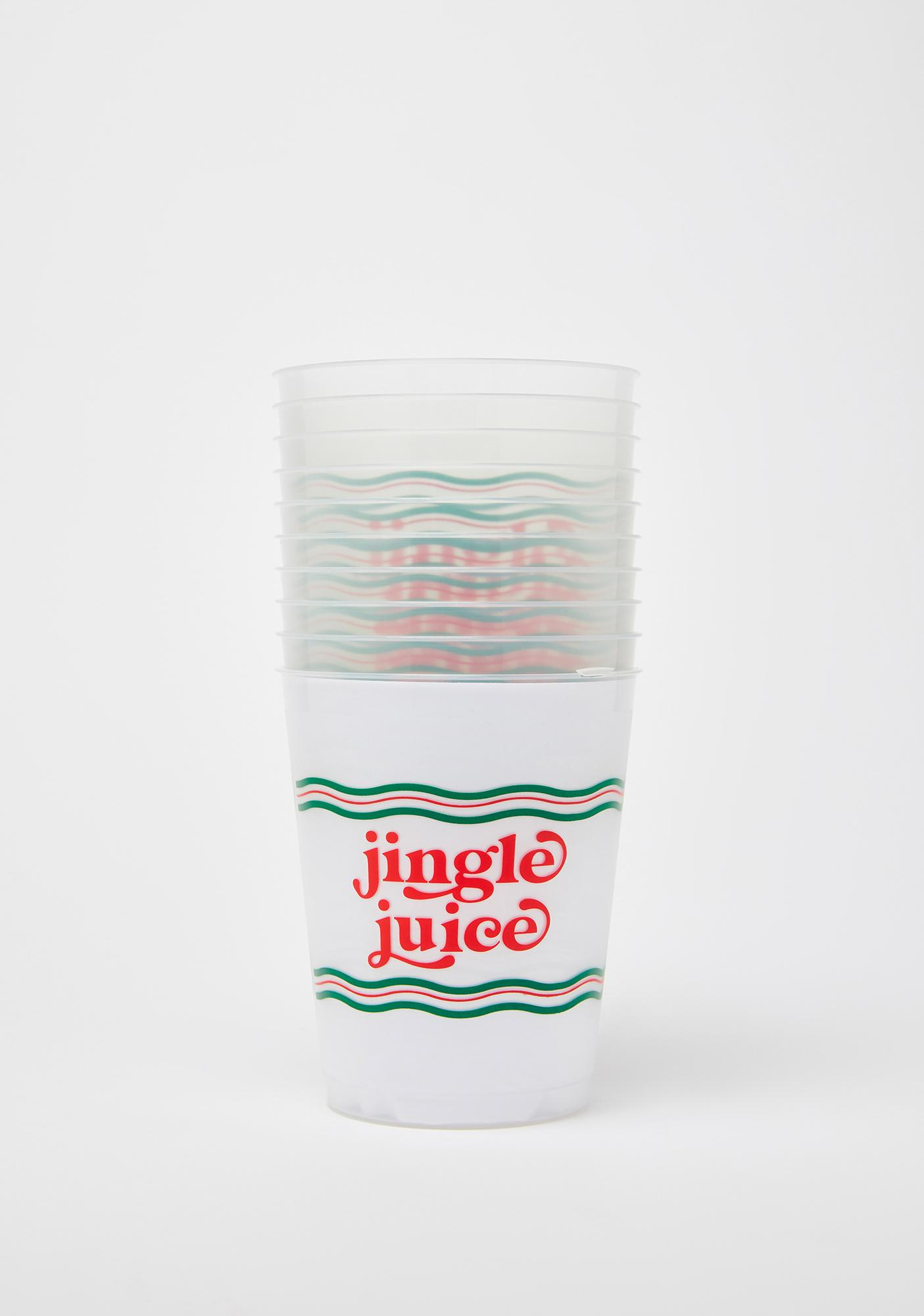 Packed Party Jingle Juice Cupstack