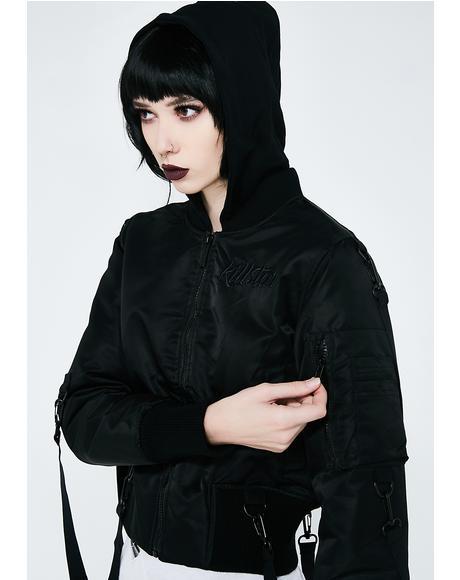 Goth Doll Street Bomber
