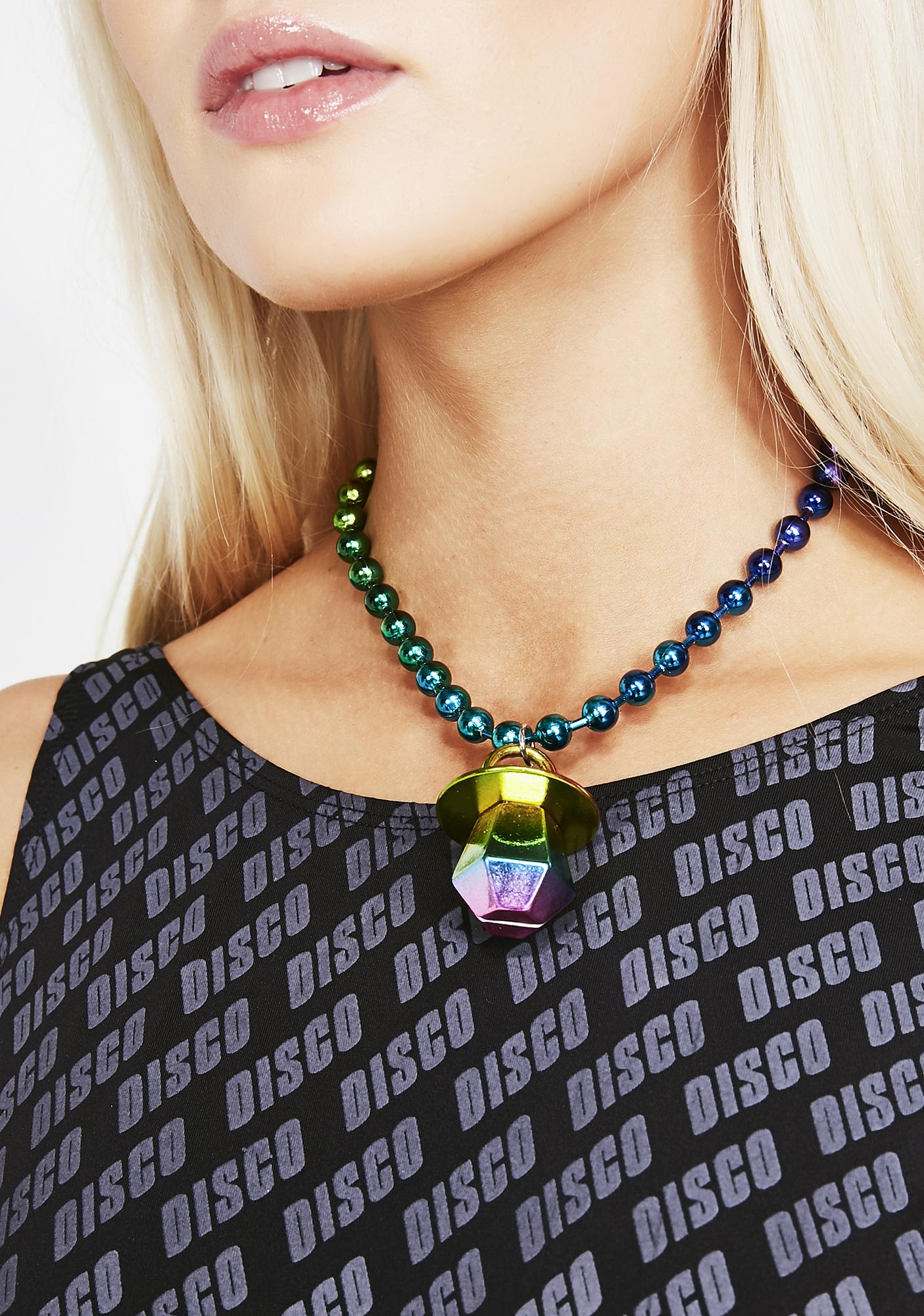 Pop That Candy Rainbow Necklace
