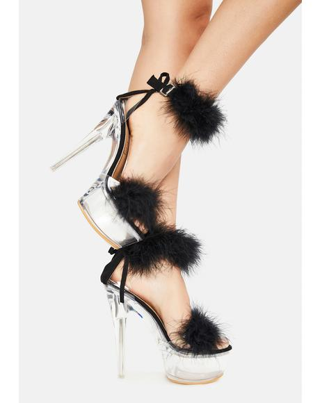 Heighten Motives Marabou Heel