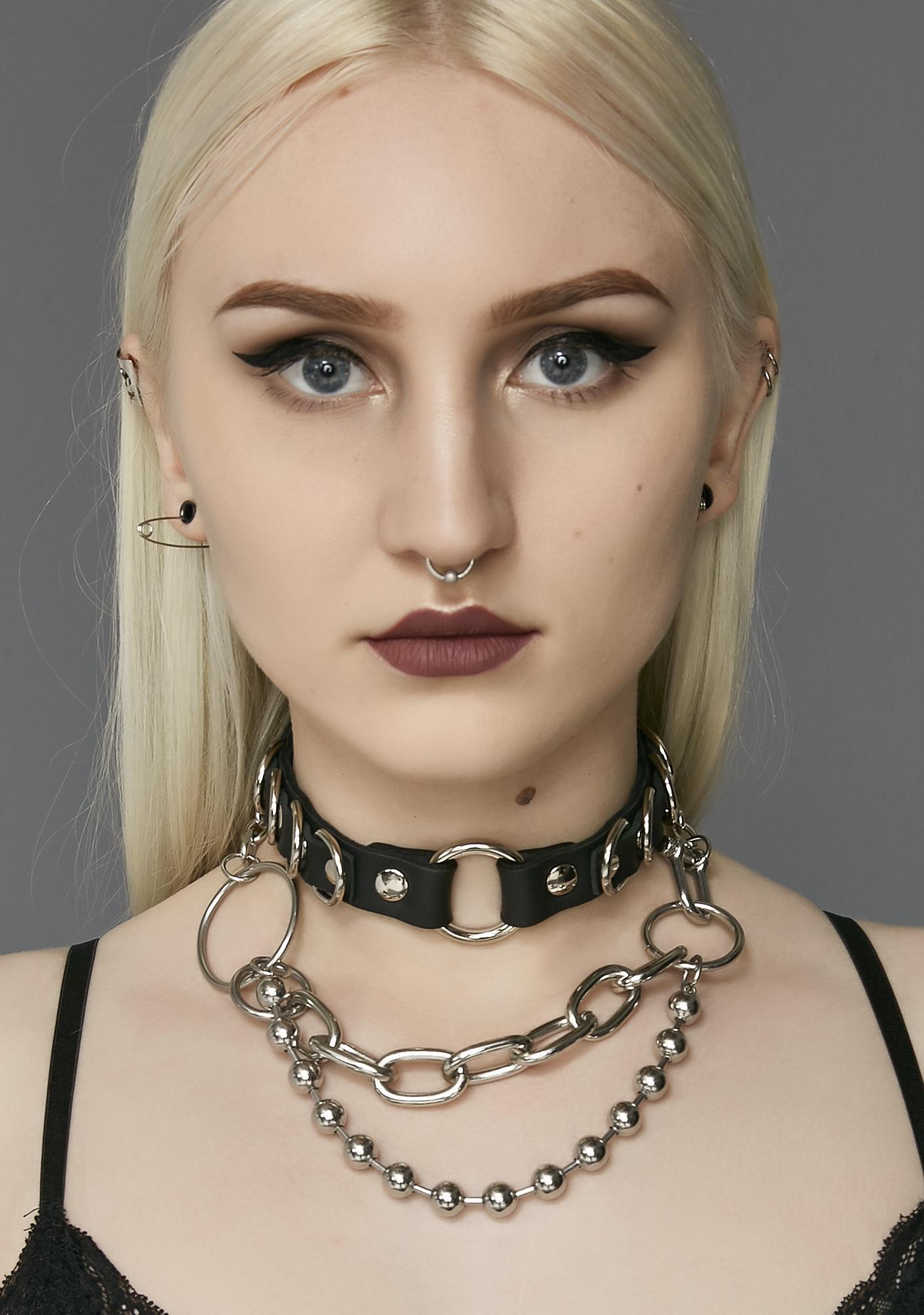Nothing To Fear O-Ring Choker