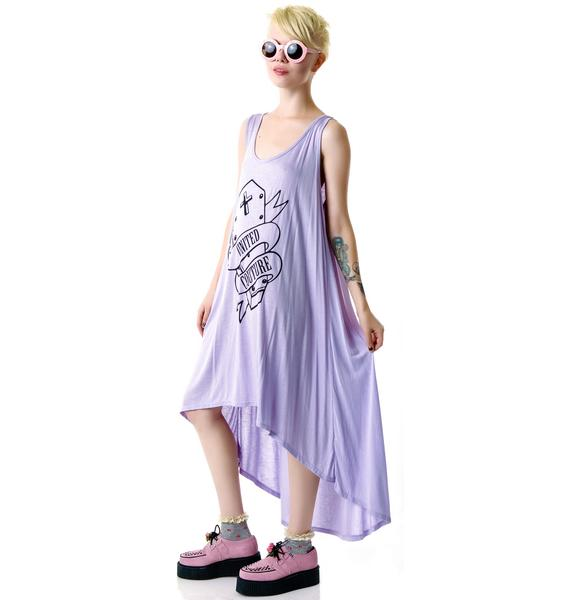 United Couture Grunge Coffin Maxi Dress