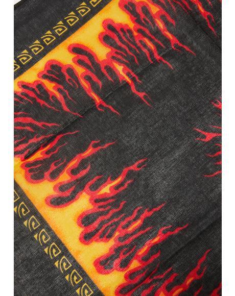 Burning Up Bandana Scarf