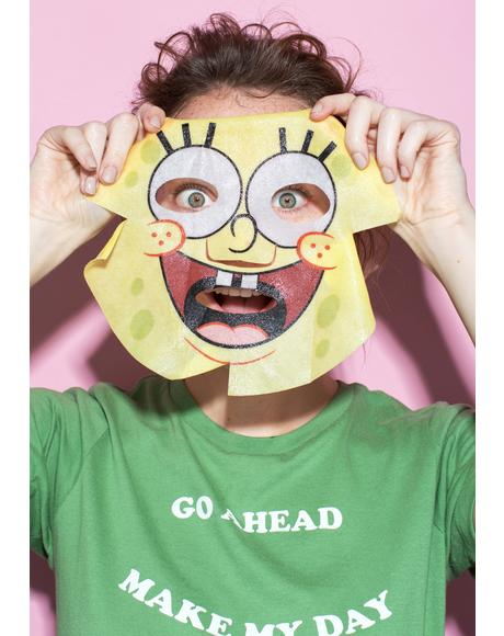 Spongebob Best Friends Best Face Ever Facemask