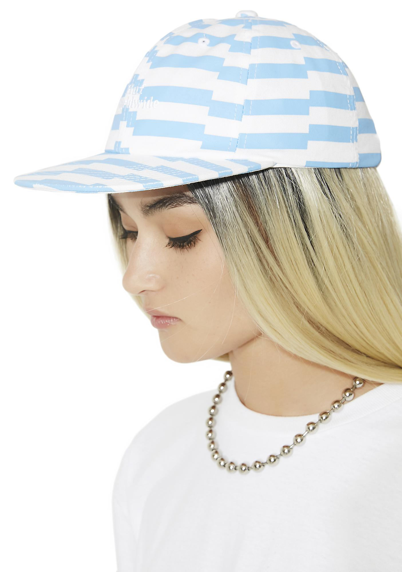 HUF Offset Stripe 6 Panel Hat