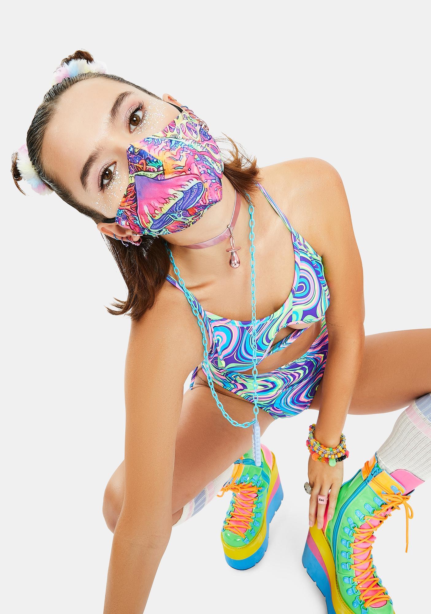 Virtual Vortex Face Mask