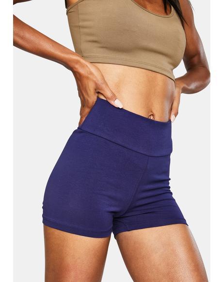 Indigo Lounge Booty Shorts