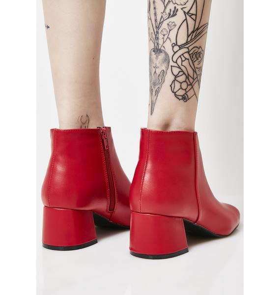 Flame Make It Personal Ankle Boots