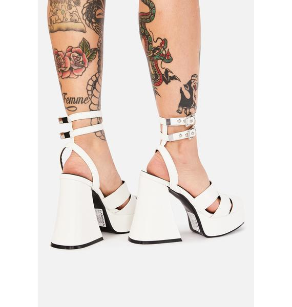 Lamoda Pure Troubled Talk Platform Heels