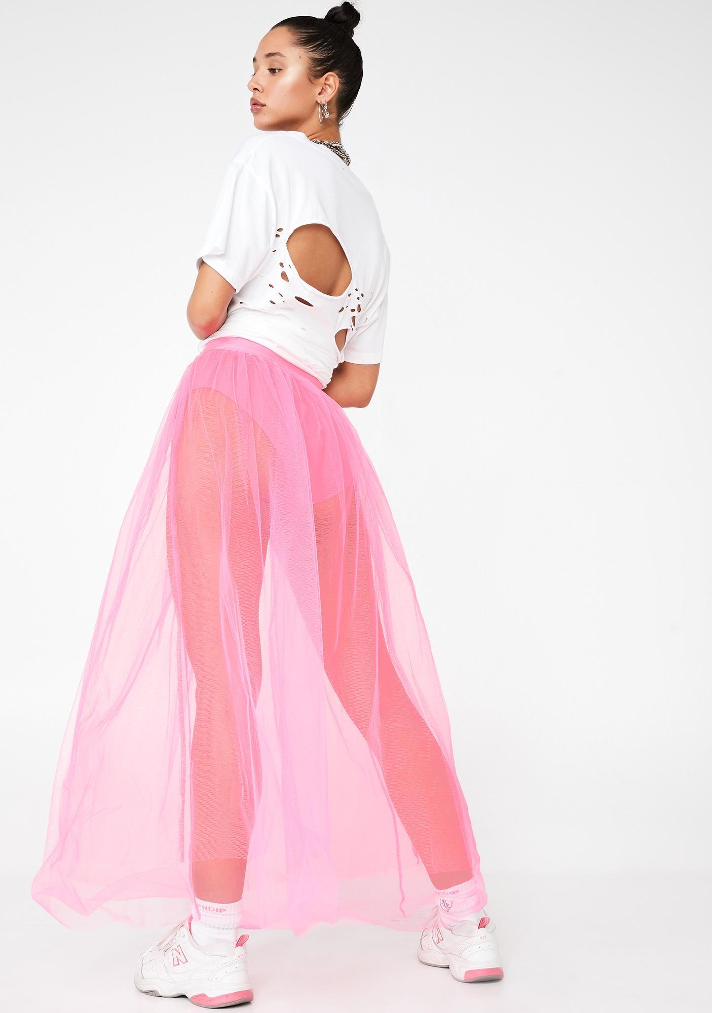 Sweet Vicious Vapor Tulle Skirt