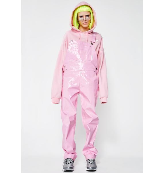 Nicopanda Pink Overalls