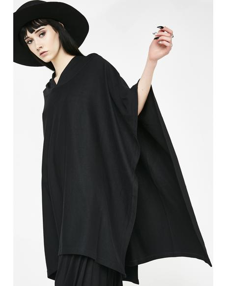 Dark N' Twisted Poncho