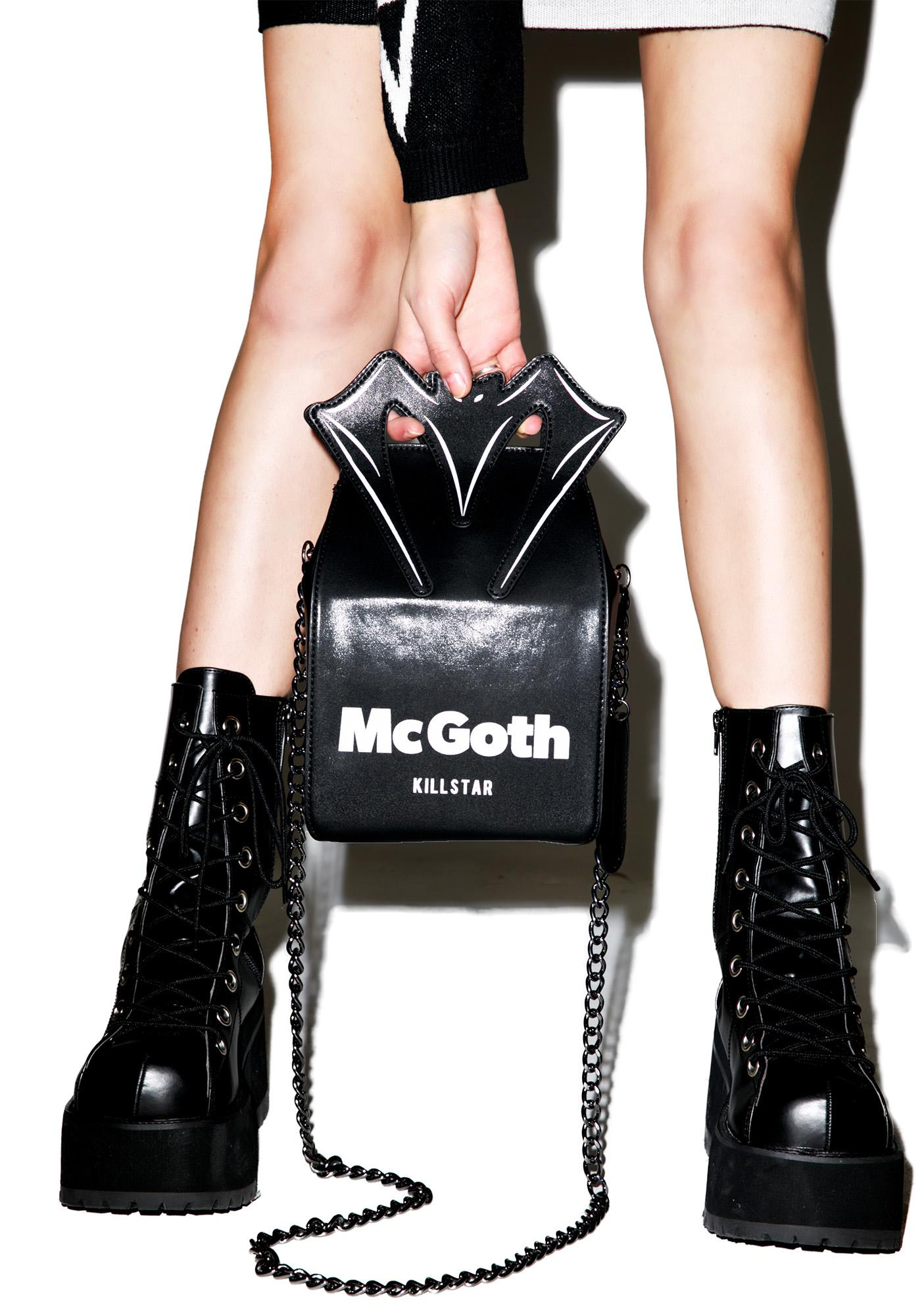Killstar Unhappy Meal Handbag