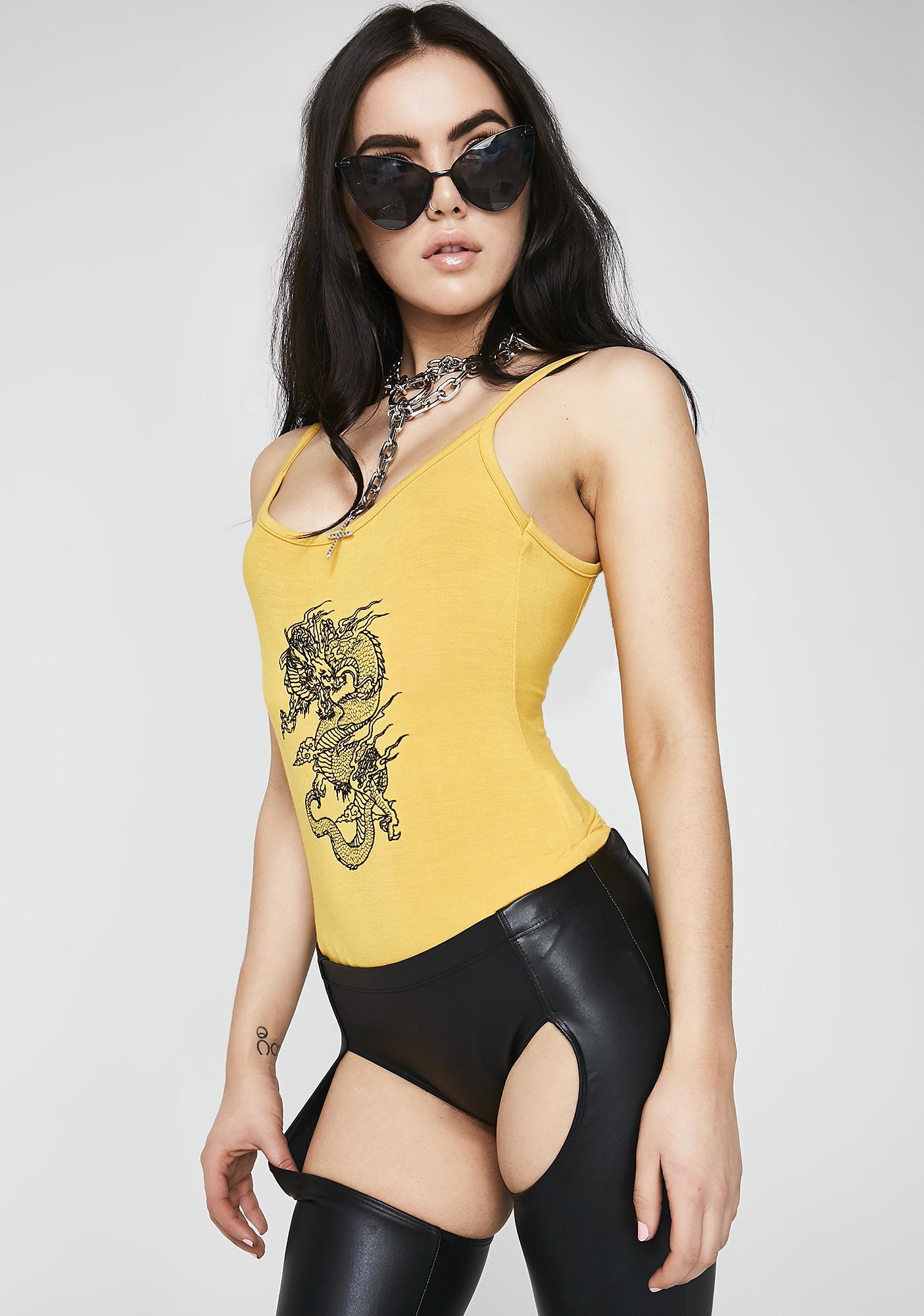 O Mighty Hidden Dragon Bodysuit
