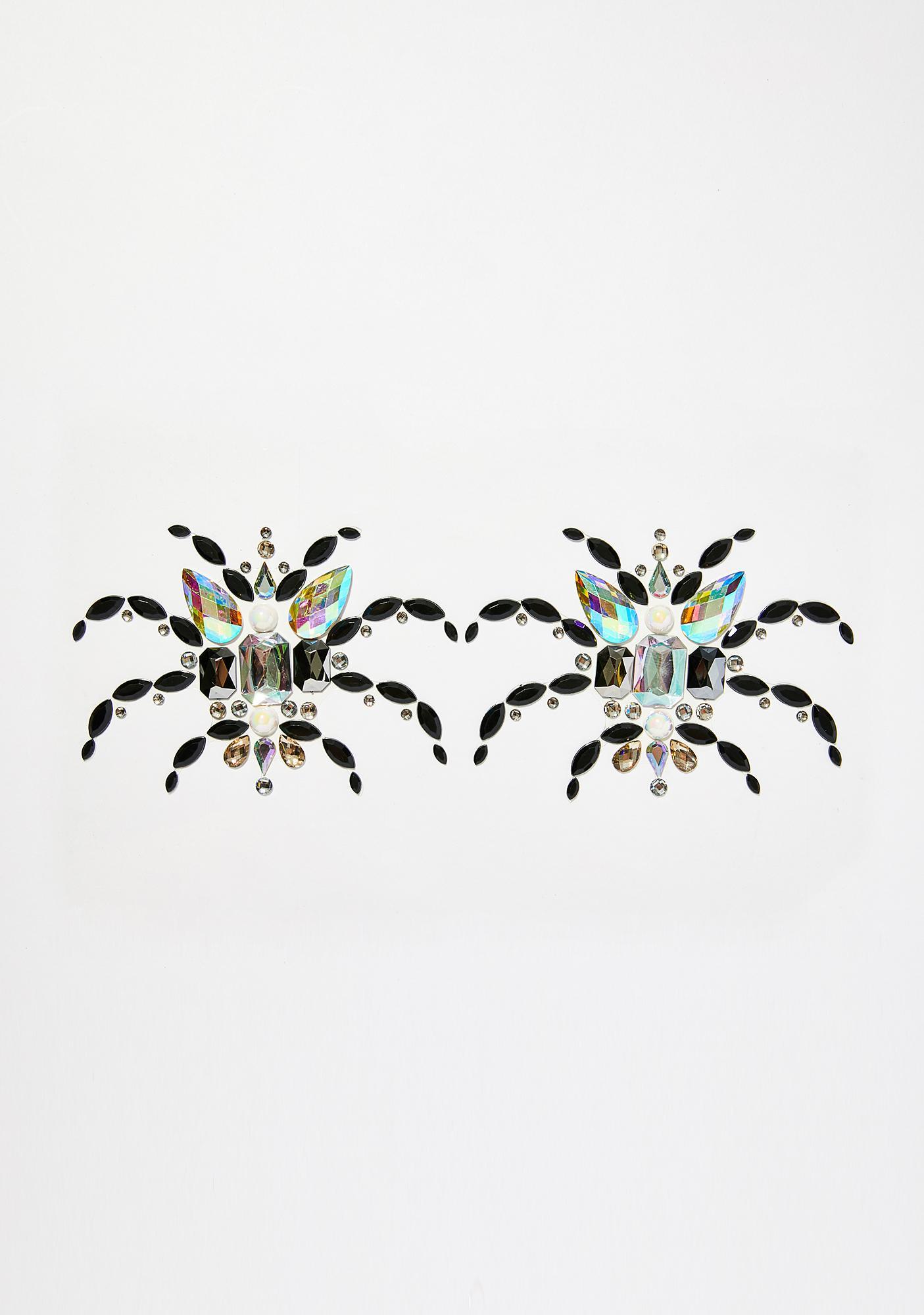 Go Get Glitter Spider Boobs Body Jewels