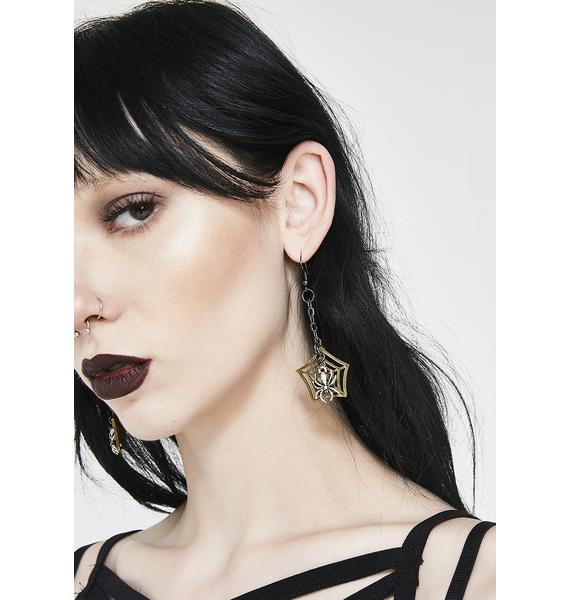Creepy Crawler Earrings