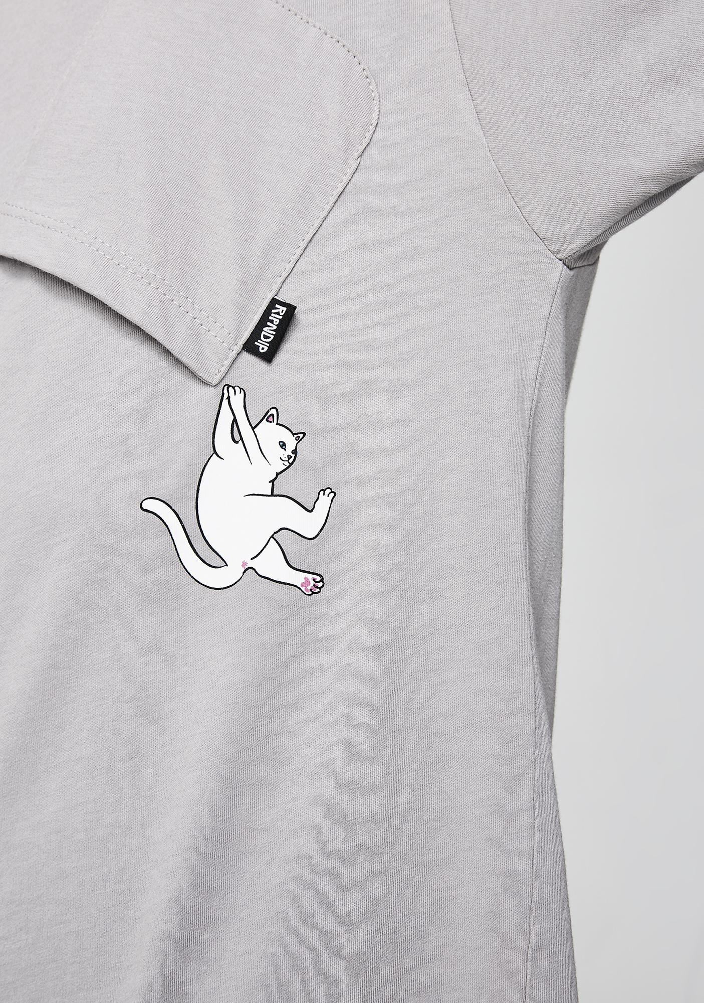 RIPNDIP Ash Hang In There Tee