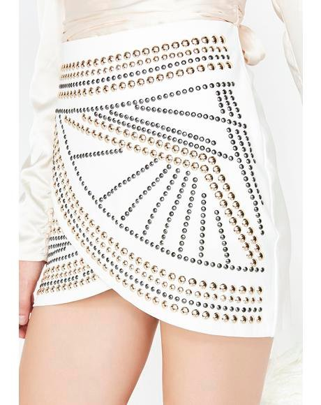 Pure Rock N' Roll Queen Mini Skirt
