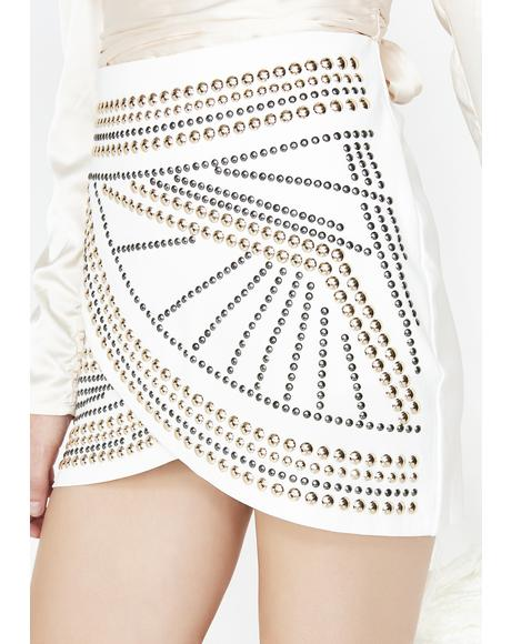Pure Rock N' Roll Queen Mini Skirt