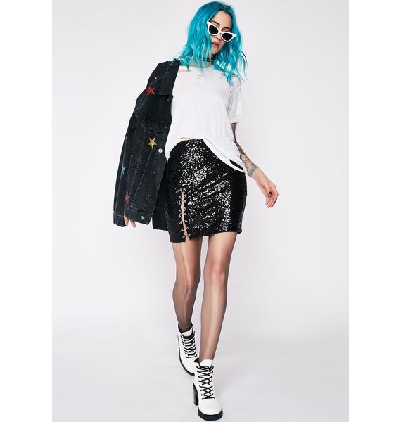 Plottin' Revenge Mini Skirt