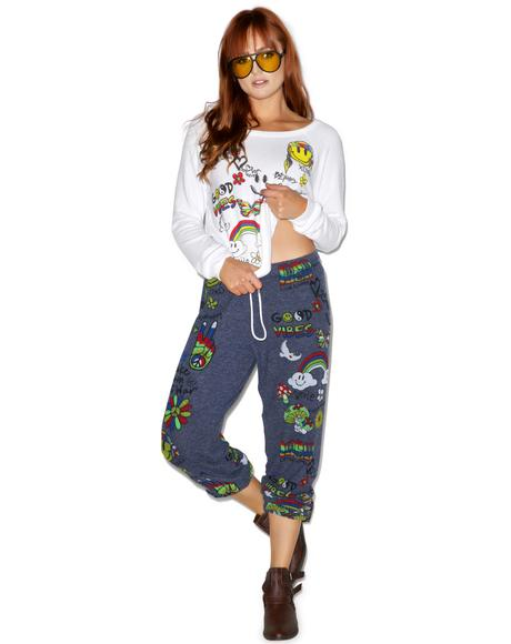 Tanzy Good Vibes Sweats