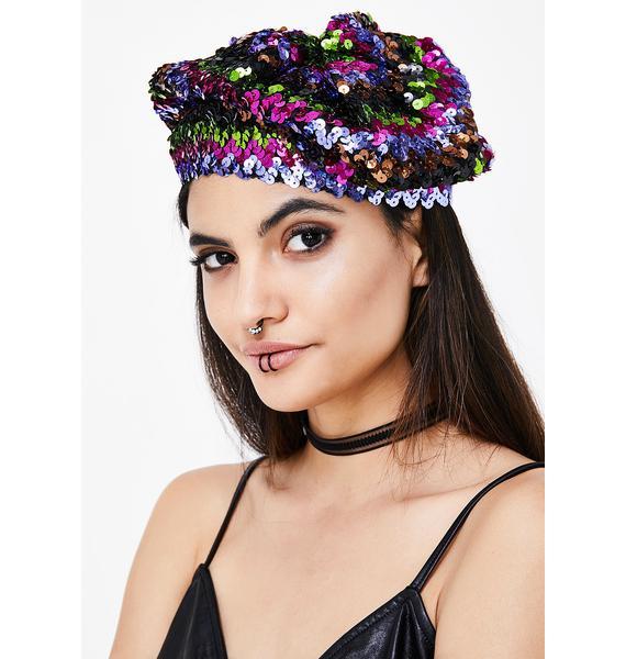 Soul Fuel Sequin Hat