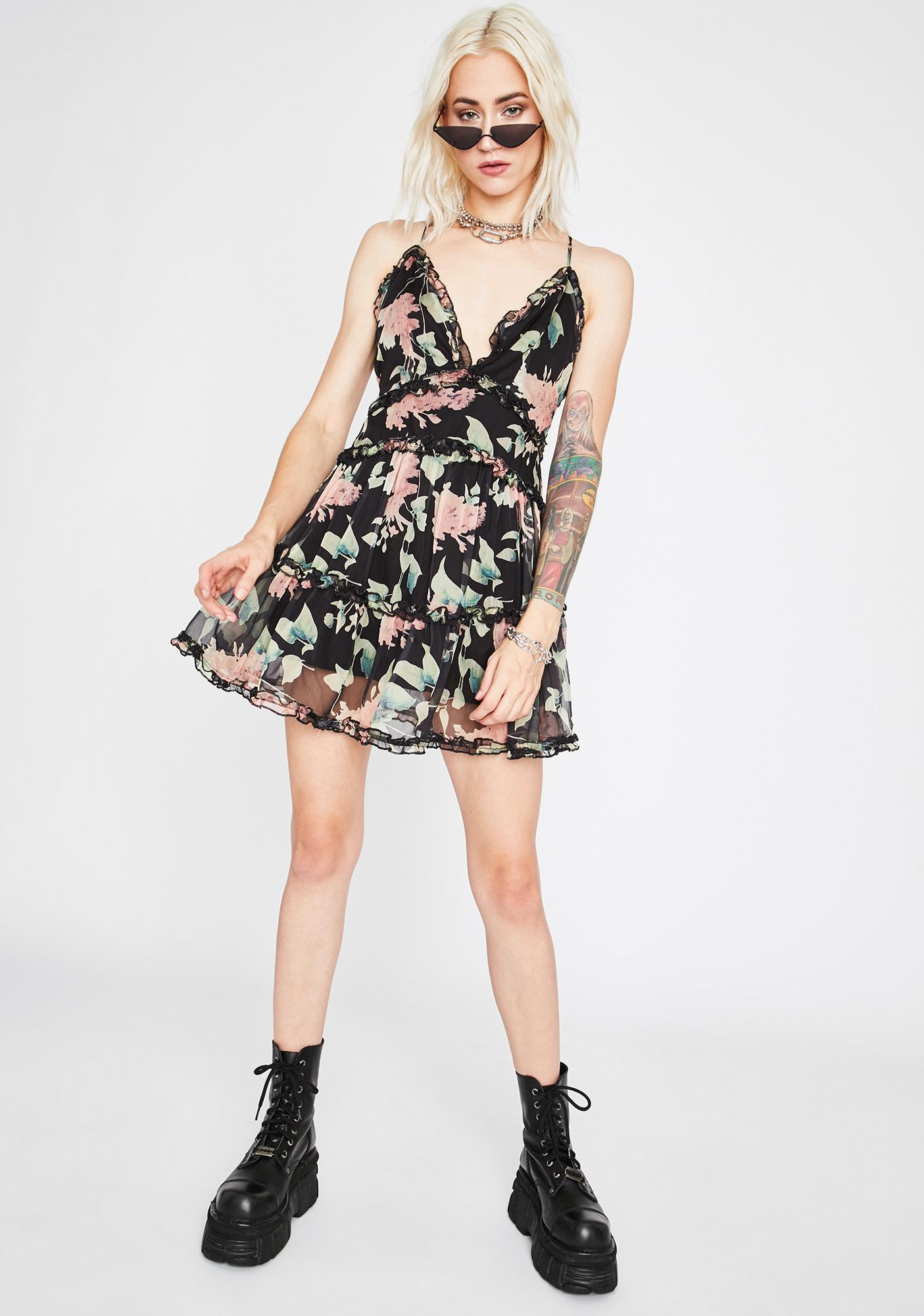 Garden Angel Stunts Mini Dress