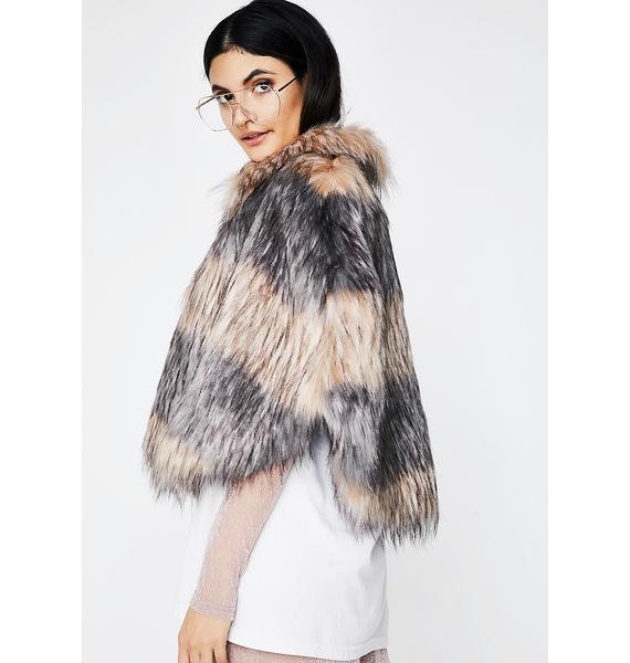 Unreal Fur Landscape Cape