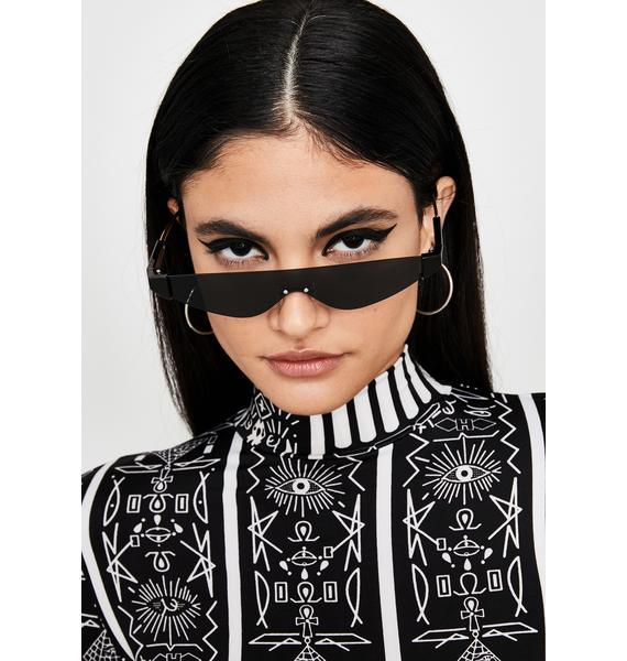 Sinnin' Sleek Chic Cat Eye Sunglasses
