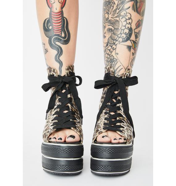 Charla Tedrick Wildcat Platform Sneakers