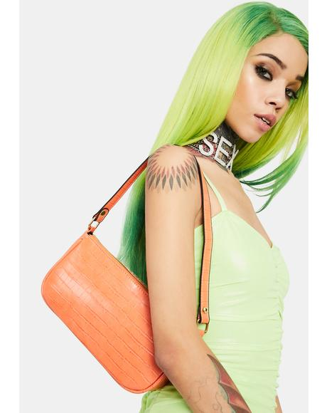 Tangerine Not Ur Mother's Shoulder Bag