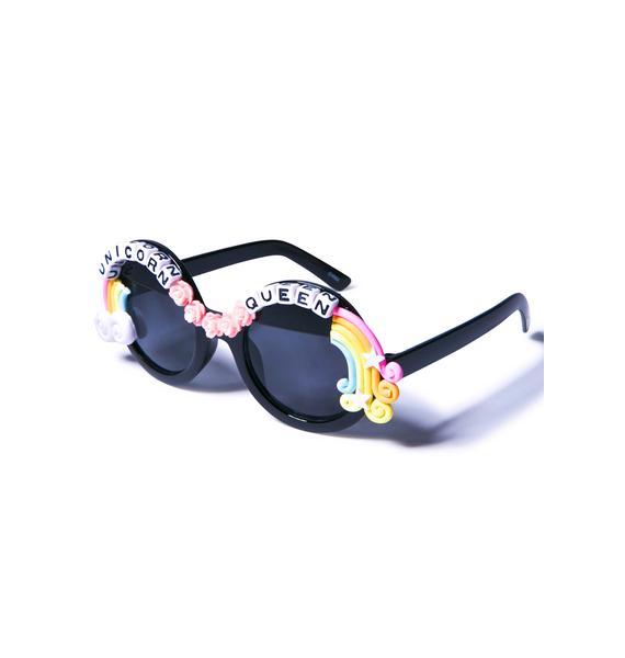 Rad and Refined Rainbow Ruler Sunglasses