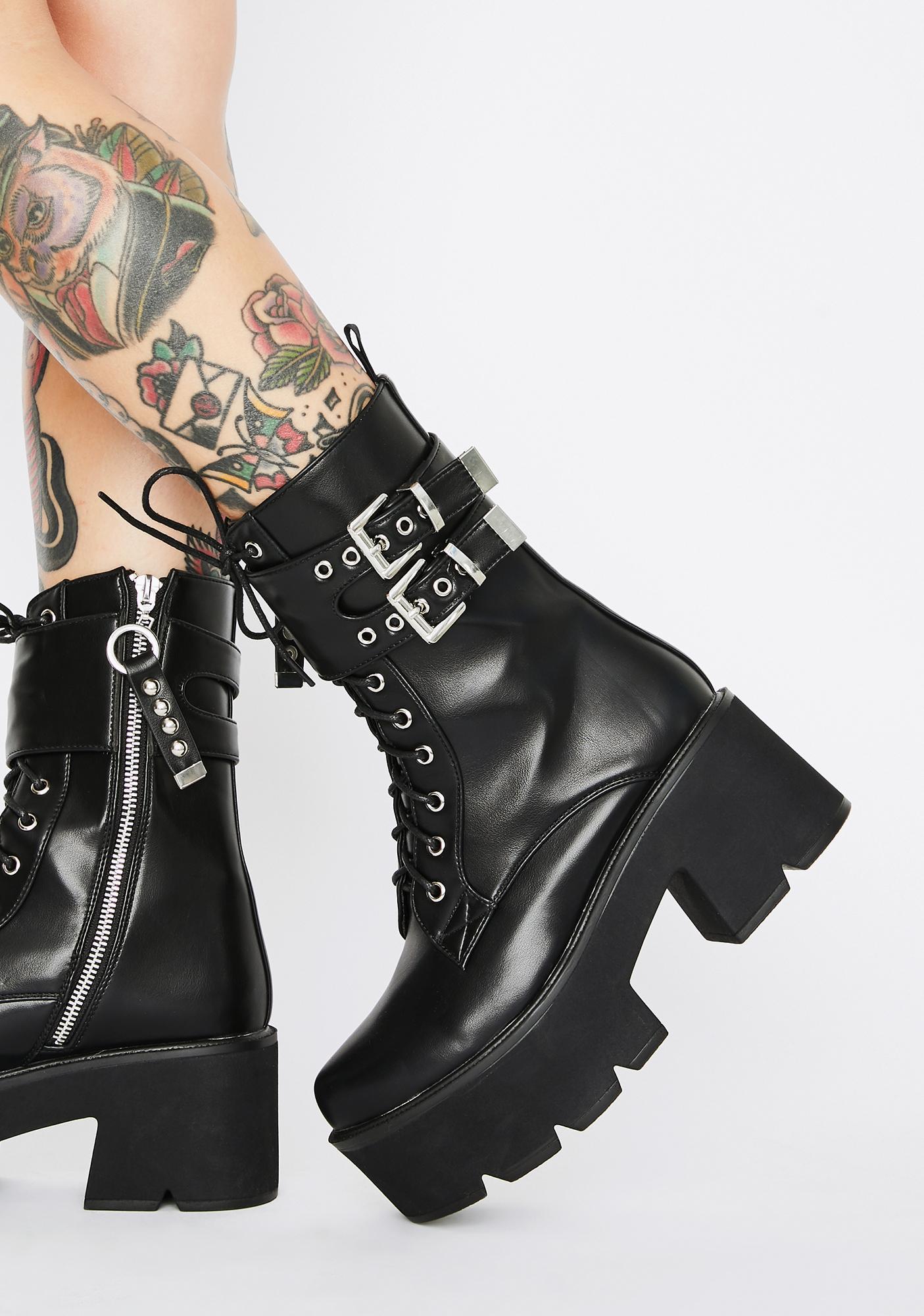 Lamoda Grenade Platform Boots