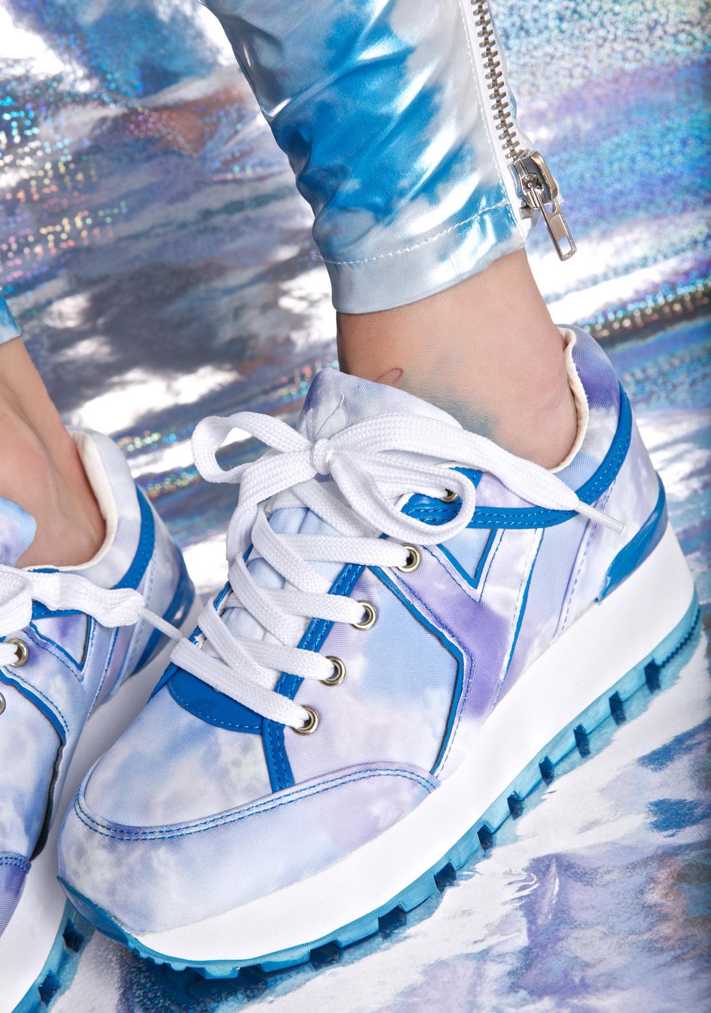 b3f35d302593 Y.R.U. Tune Tie Dye Sneakers