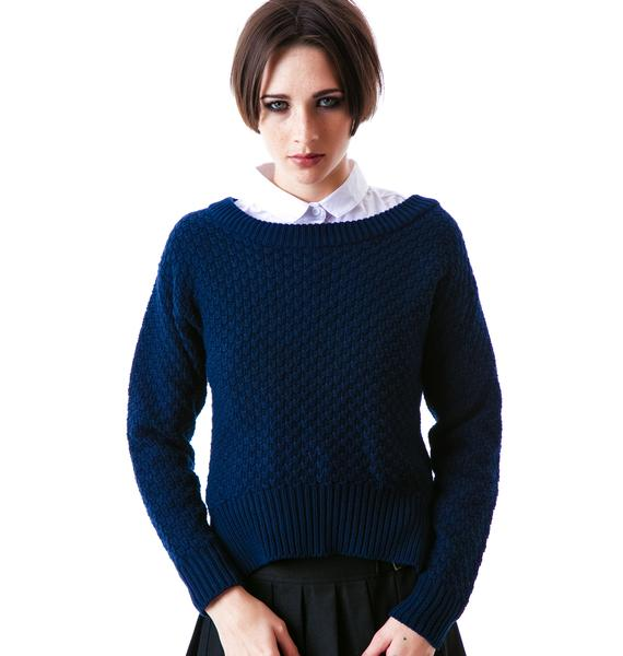 Mink Pink Weekend Away Knitted Jumper