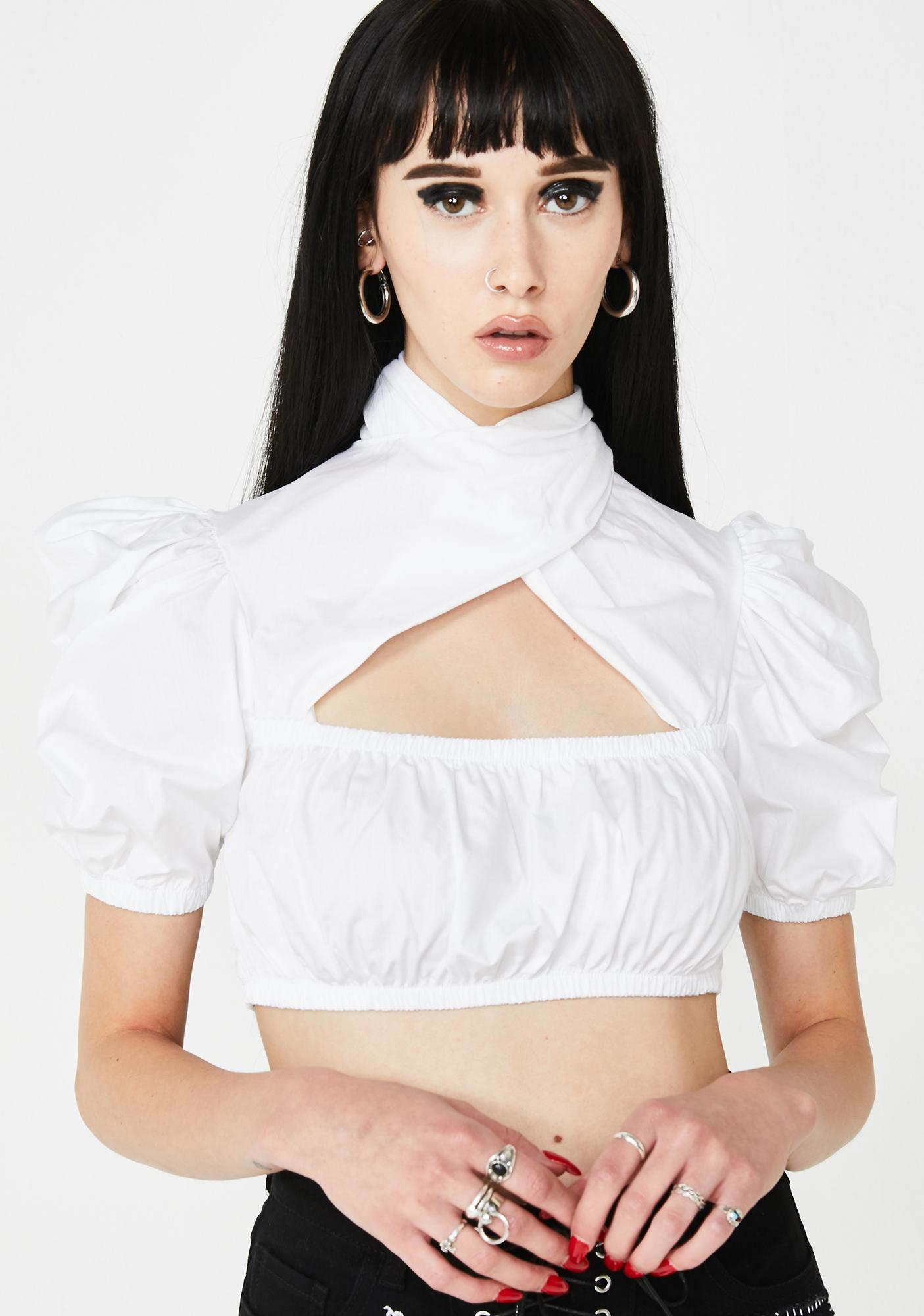 Kiki Riki Flawlessly Flawed Crop Top
