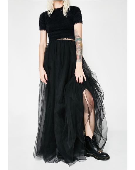 Keep Dreamin' Long Tutu Skirt