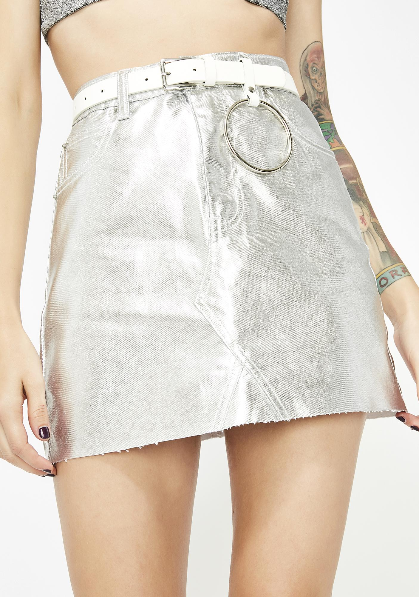 1620ef47b Moto Button Up Denim Mini Skirt – DACC