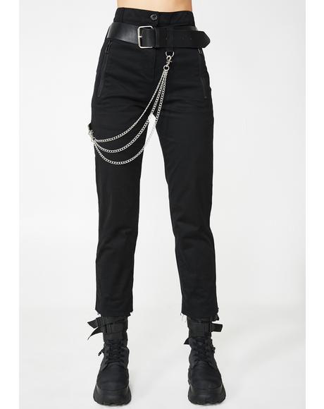 Trap Nightz Chain Trousers