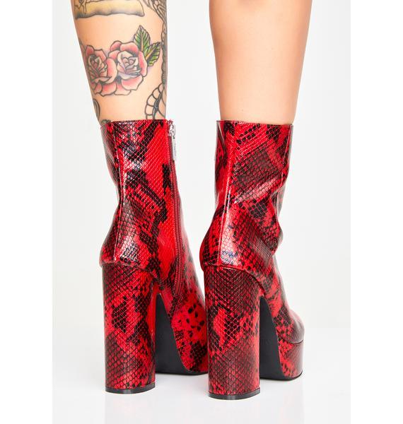 Shellys London Kaitlyn Platform Boots
