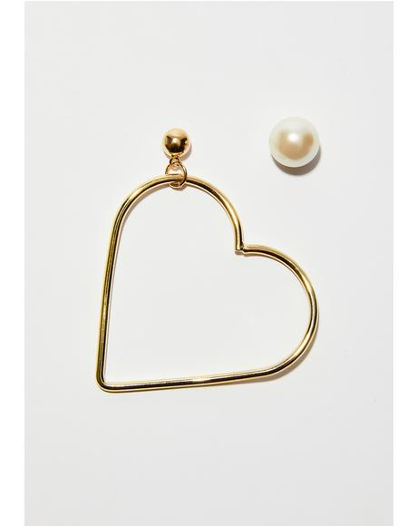 All Your Luvin' Mismatch Earrings