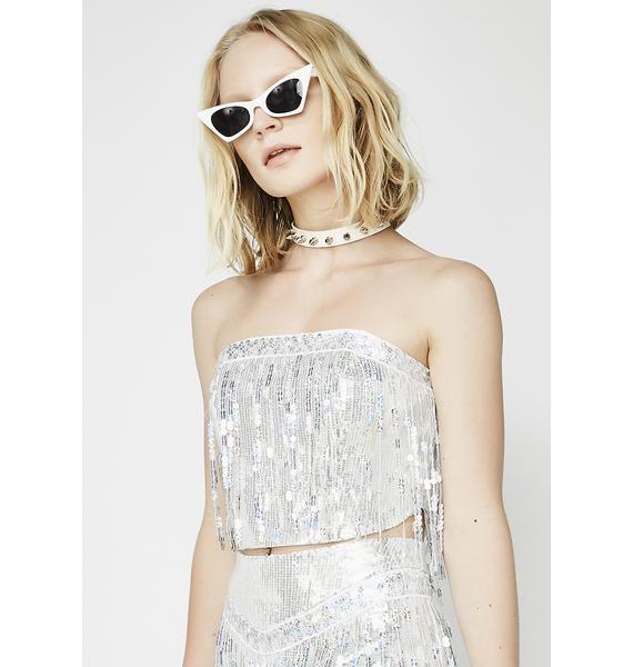 Bustin' Moves Sequin Top