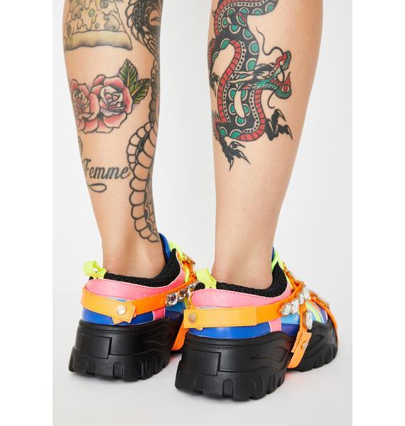 Epic Stackin' Dough Platform Sneakers