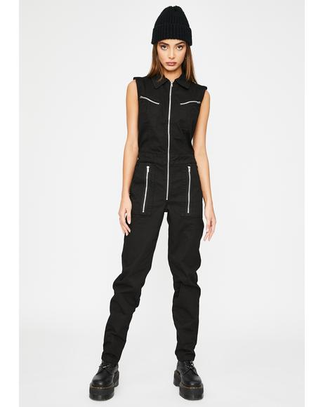 All You Can Be Cargo Jumpsuit