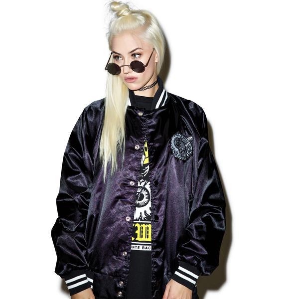 Mishka Lamour Split Icons Varsity Jacket