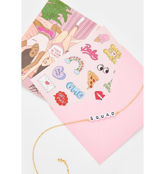 Ryan Porter Squad Beaded Bracelet & Card Set