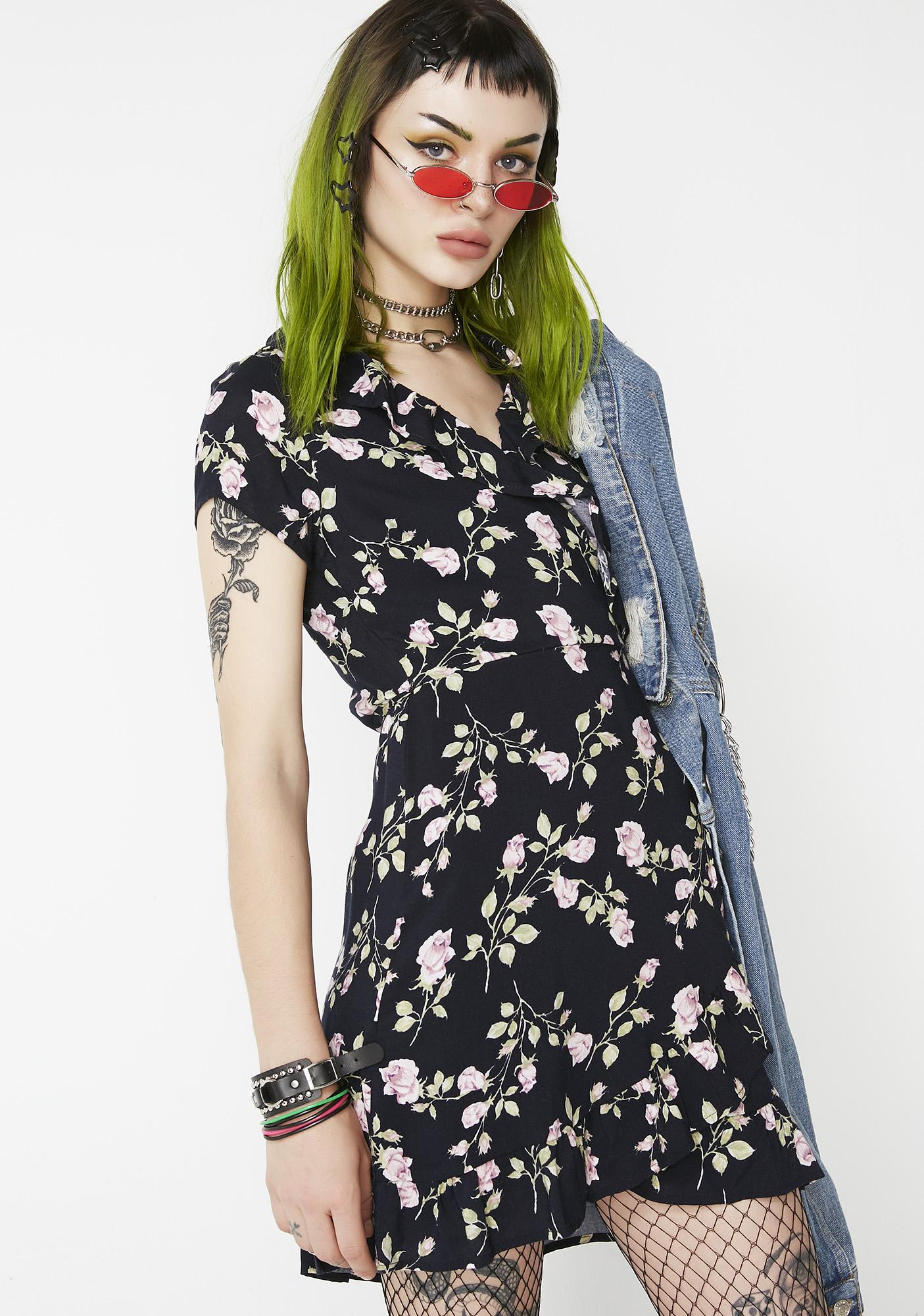For Keeps Floral Dress