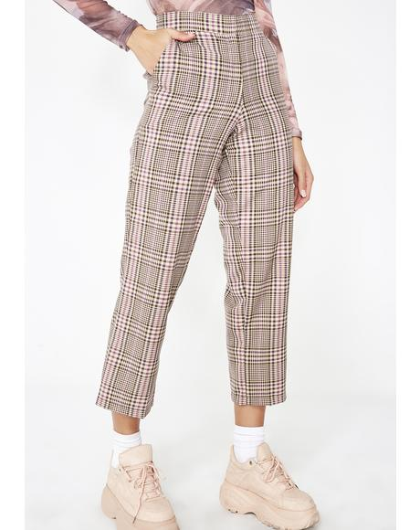 Lorna Plaid Pant