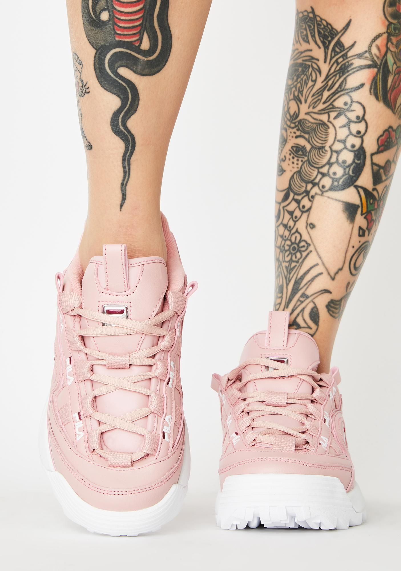 Fila Pink D-Formation Sneakers